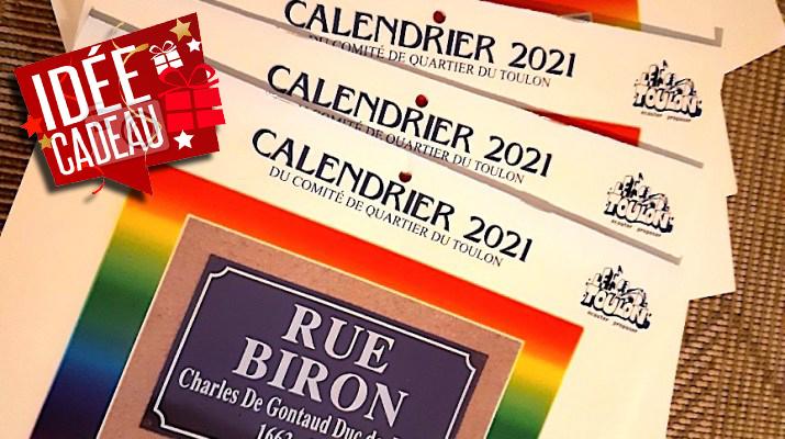 Calendriers 2021 comité de quartier du Toulon à Périgueux