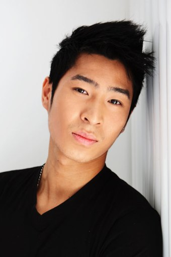 Actor Chris Pang looking sexy