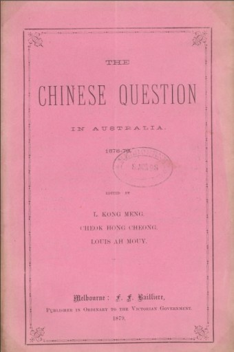 The Chinese Question in Australia text