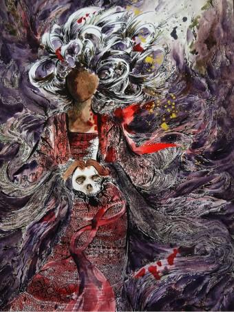 """Mangkukulam, """"One who curses"""", """"Witch"""" by Likhain (Image courtesy the artist)"""