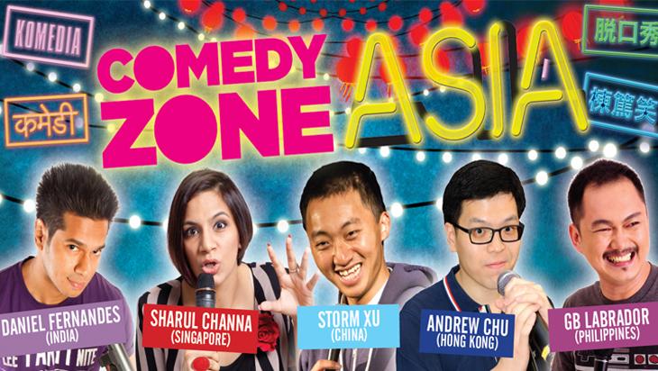 Comedy Zone Asia (image via www.comedyfestival.com.au)