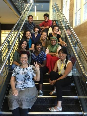 Group photo of current participants. Image courtesy: Hoa Pham