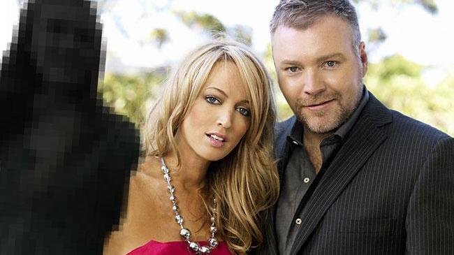 Jackie O and Kyle Sandilands
