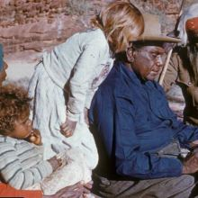 Albert Namatjira with family