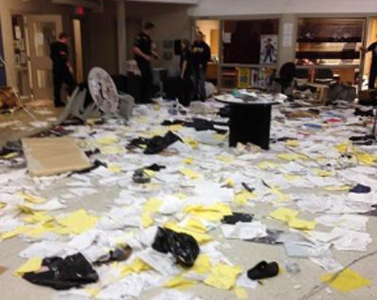 Uprising at Lorrie Yeager Jr. Juvenile Center, West Virginia