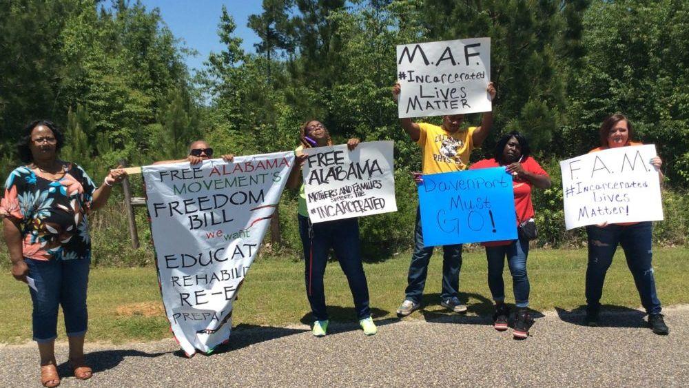 Free Alabama Movement May Day Strike