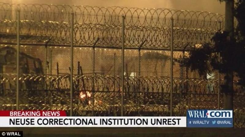 Uprising at Neuse Correctional Institution, North Carolina