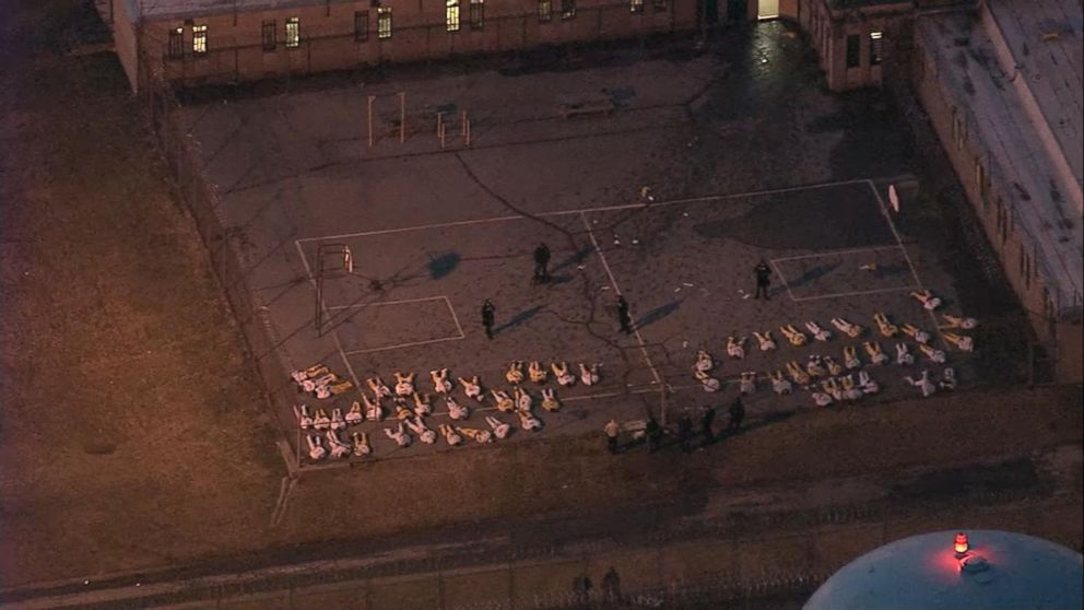 Uprising at James T. Vaughn Correctional Center, Delaware