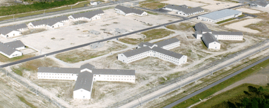 Uprising at Gulf Correctional Institution Annex, Florida