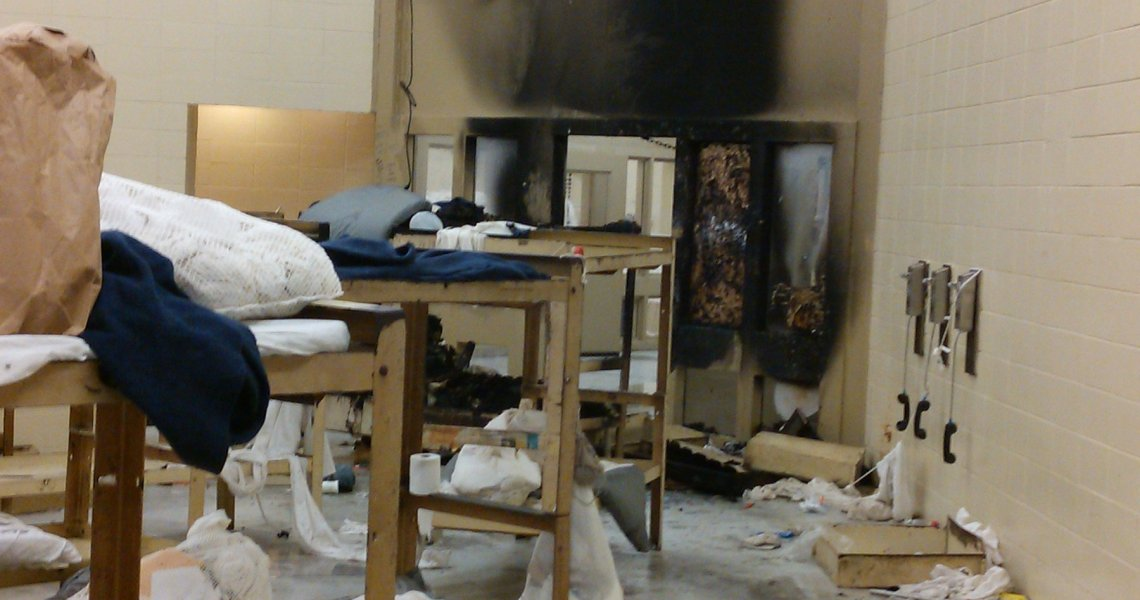 Uprising at Bibb Correctional Facility, Alabama