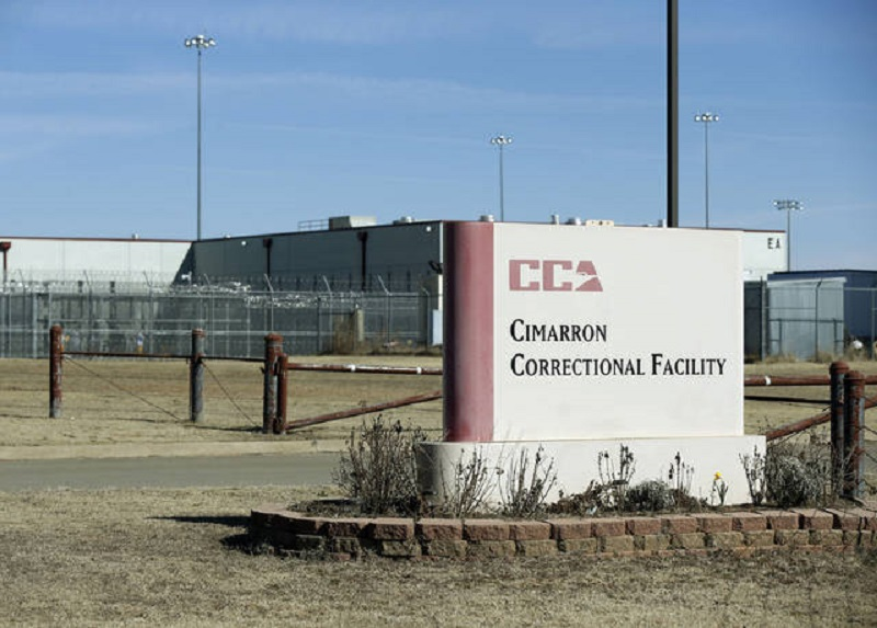 Uprising at Cimarron Correctional Facility, Oklahoma