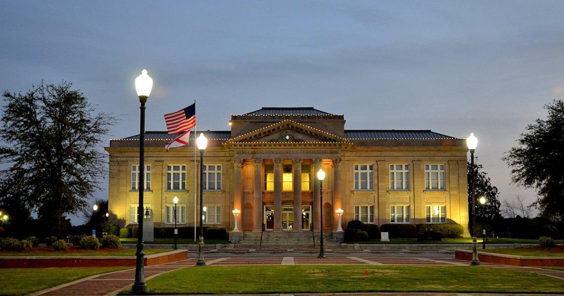 Disturbance at Covington County Jail, Alabama