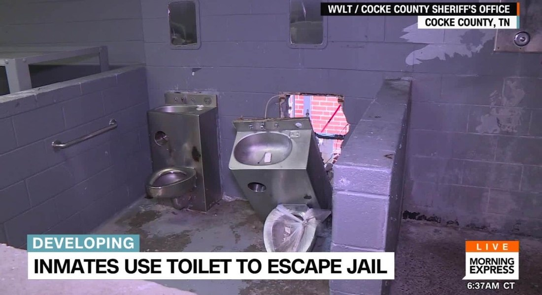 Christmas Day Escape at Cocke County Jail Annex, Tennessee