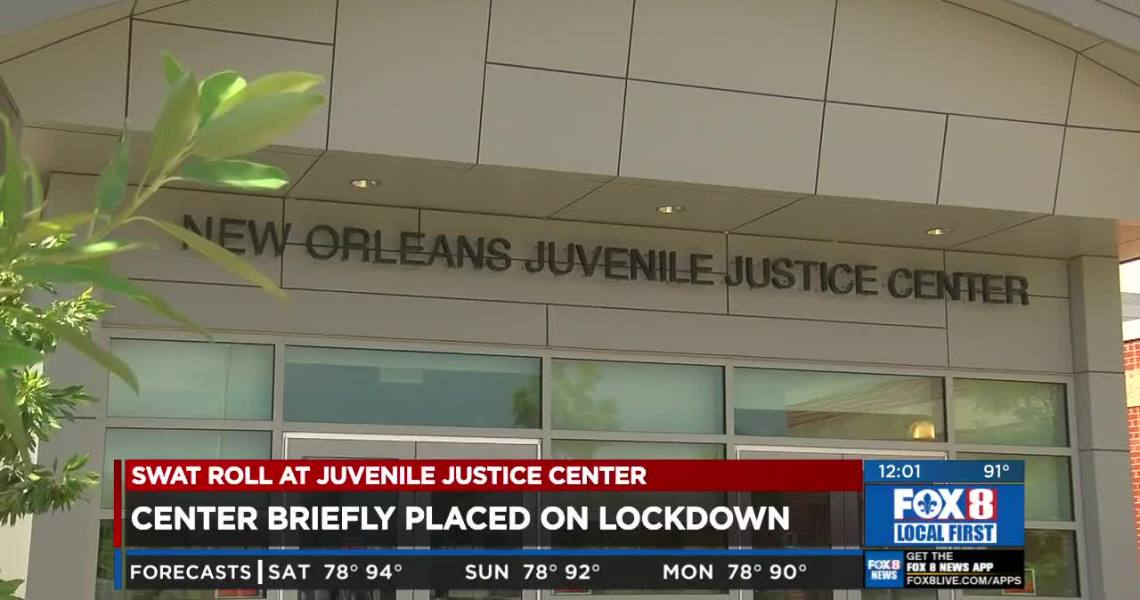 Disturbance at New Orleans Juvenile Justice Intervention Center, Louisiana