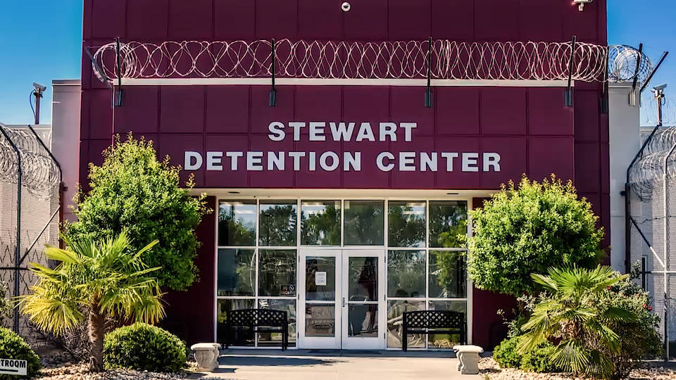 Uprising at Stewart Detention Center, Georgia