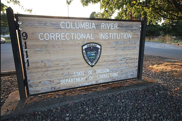 Uprising Over COVID-19 at Columbia River Correctional Facility, Portland, Oregon