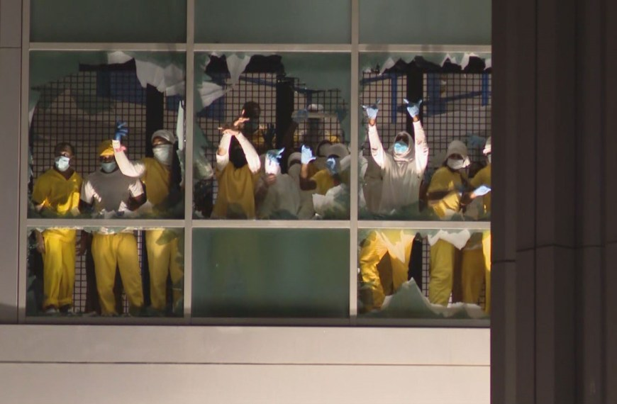 Easter Rebellion at the St. Louis City Jail