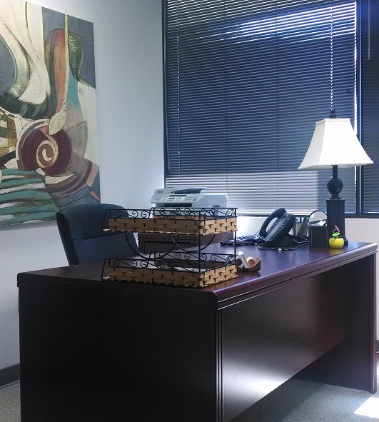 105 sq. ft. window office available - Nashville Office Space