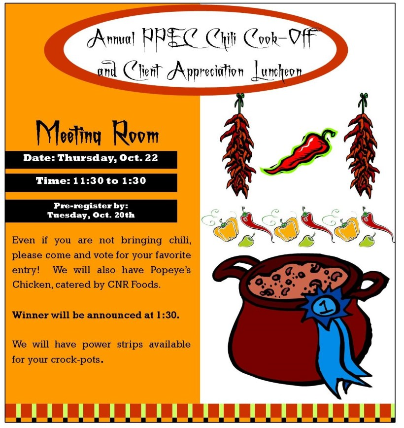 Chili Cook-Off 2015 graphic only