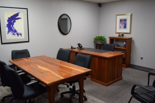 Large interior Nashville team office space available.
