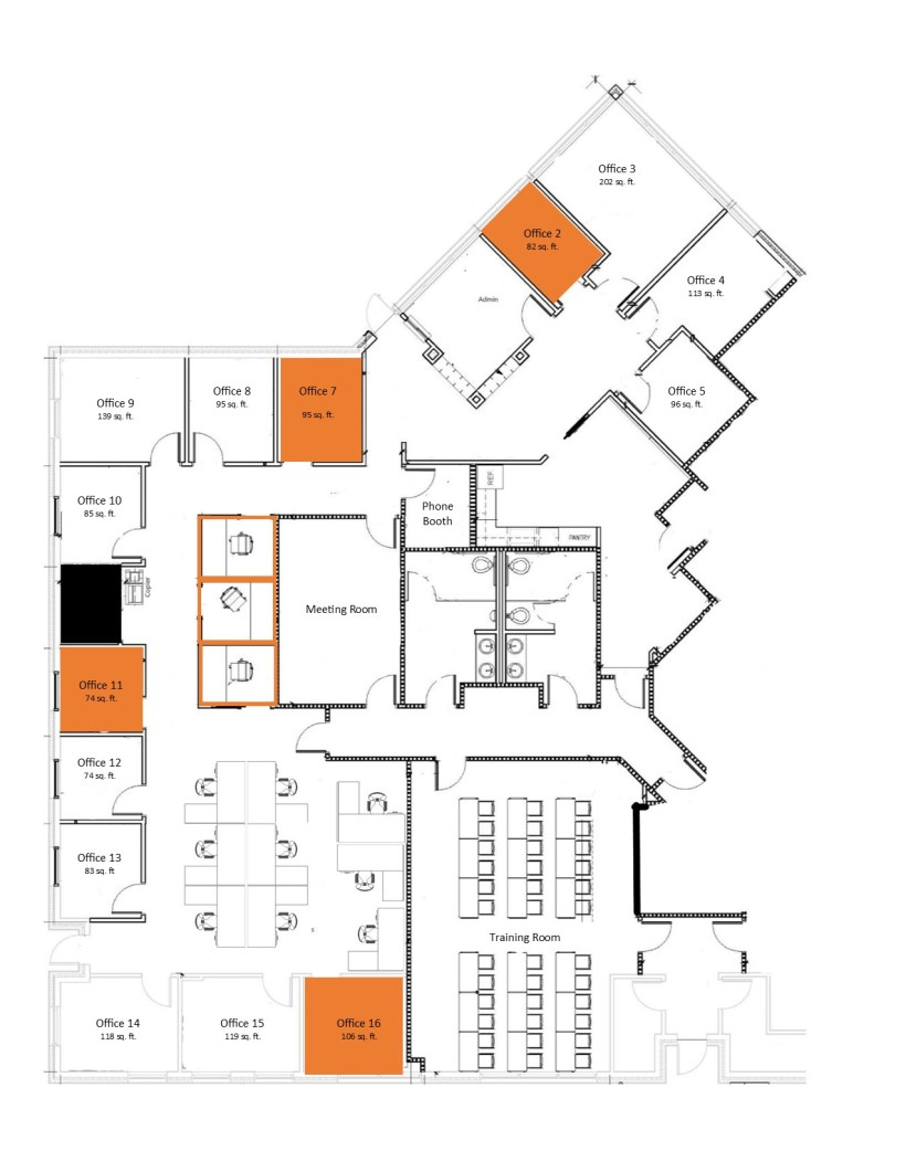2020-06-18 - 740 Conference Drive - Executive Center Floorplan - Web version