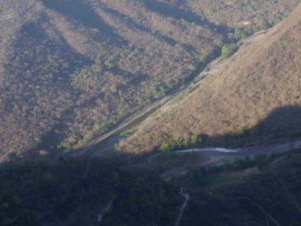 Cruce del río Santiago y el río Verde