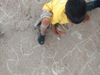 Niñez jugando