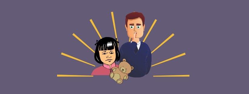 Abuso sexual en casa