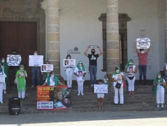 Protesta madres de desaparecidos