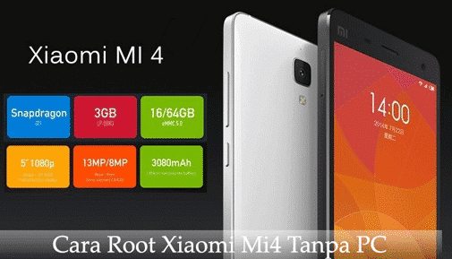 Cara Root Xiaomi Mi4 Tanpa PC