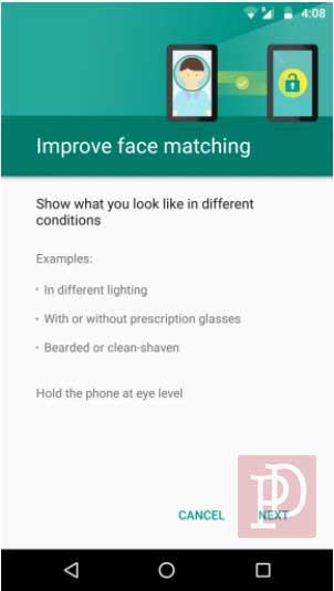 Cara Setting Wajah untuk Unlock Android