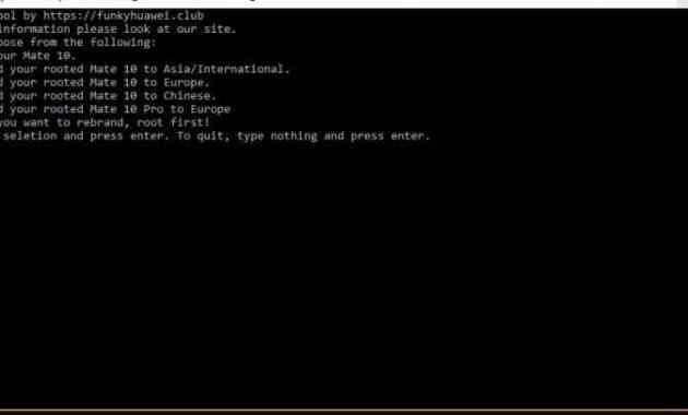 Cara Unlock Bootloader dan root Huawei Mate 10 Pro