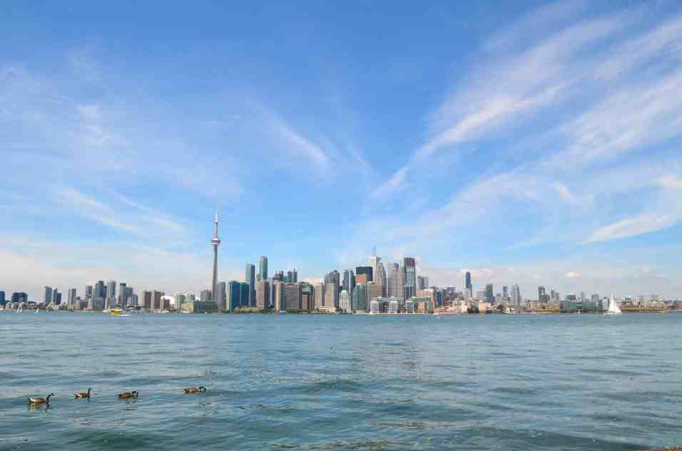 Toronto Skyline from Ward's Island