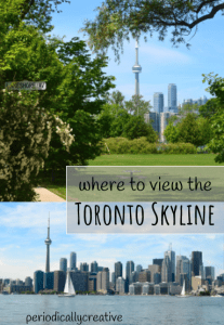 Toronto has an amazing skyline! Find out the best spot in the city to see it.
