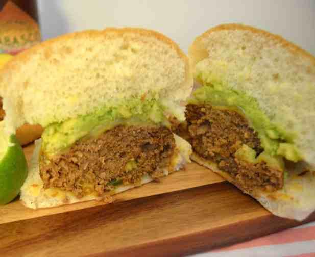 Spicy Southwest Turkey Burgers