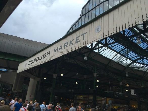 entrance to Borough Market