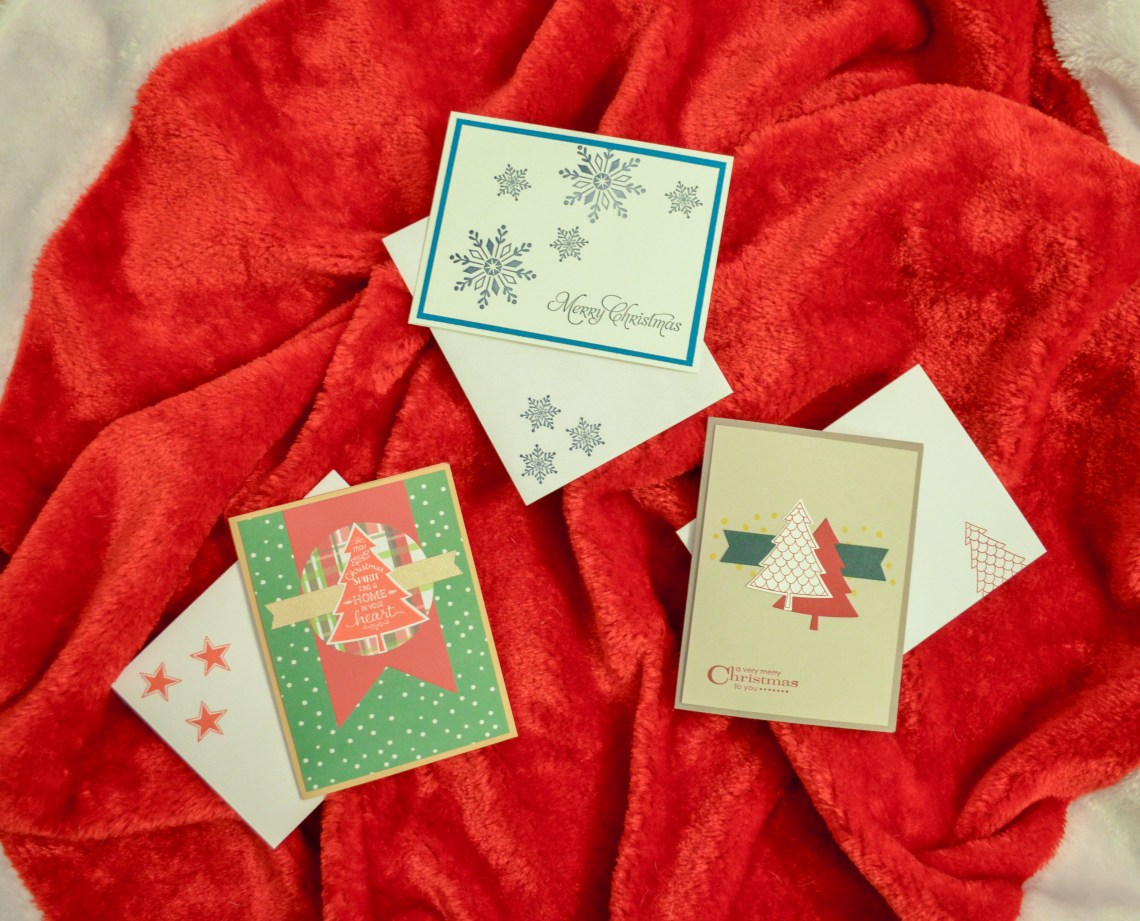 3 Christmas card designs