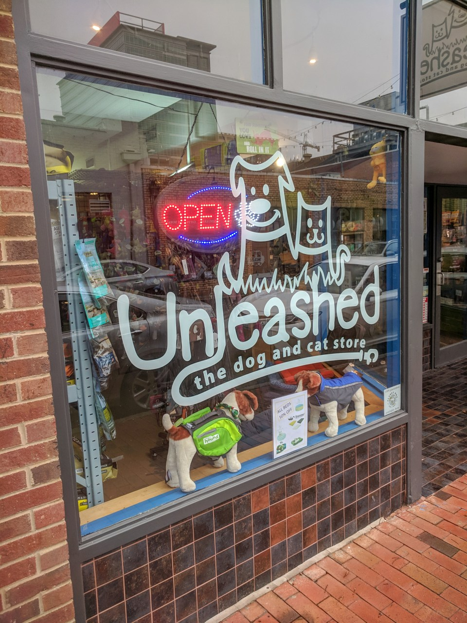 Unleashed pet store