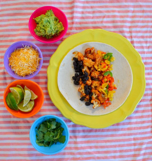 toppings make the burrito