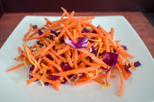 Carrot & Cabbage Salad