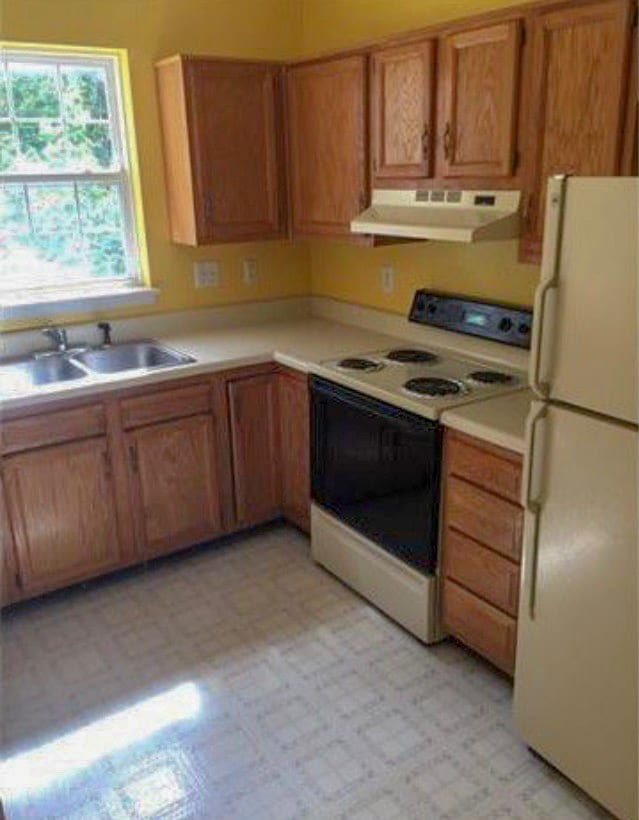 outdated cabinets with antique brass kitchen hardware
