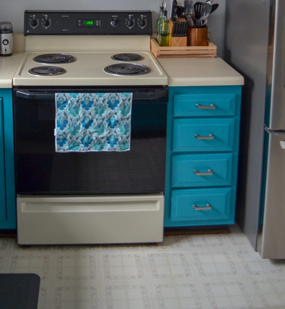 drawers with new hardware