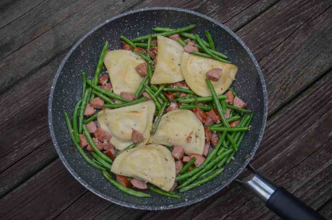 an easy pierogi recipe that's a one pan meal