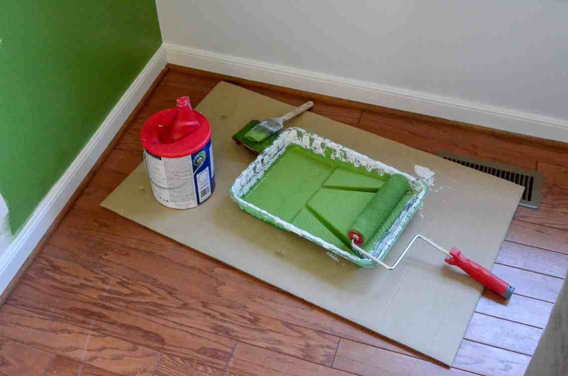 An edger, a brush, and paint can list are the best painting tools.