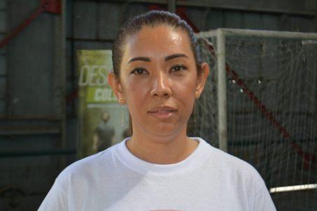 Luz helena Bautista Hernández, directora de la organización 'Defiéndete mujer'. / ´FOTO DANIELA COGOLLO RODRÍGUEZ