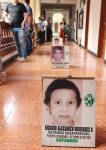 De acuerdo con el informe 'hasta encontrarlos', del Centro Nacional de Memoria Histórica, en el país se registran 60.630 desaparecidos. /FOTO SILVIA ESPERANZA SERRANO