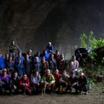 Grupo de la Expedición Bio Santander que se encargó de adelantar una evaluación biológica y ecológica del sistema de cavernas de El Peñón. / FOTO FELIPE VILLEGAS