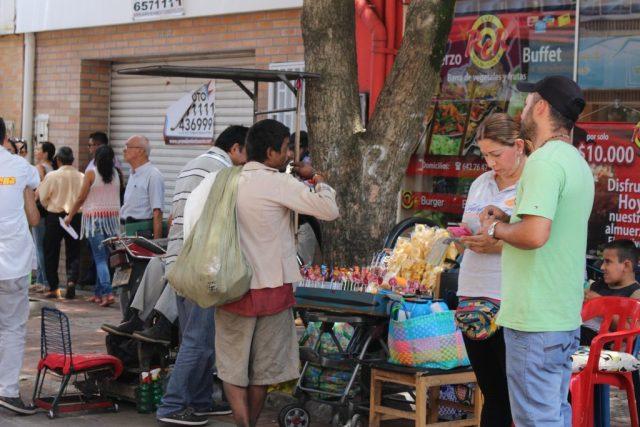 Los habitantes de calle son personas en situación de vulnerabilidad y cuando también padecen adicciones a sustancias psicoactivas agrava dicho escenario. / FOTO FABIÁN MORALES GÓMEZ.