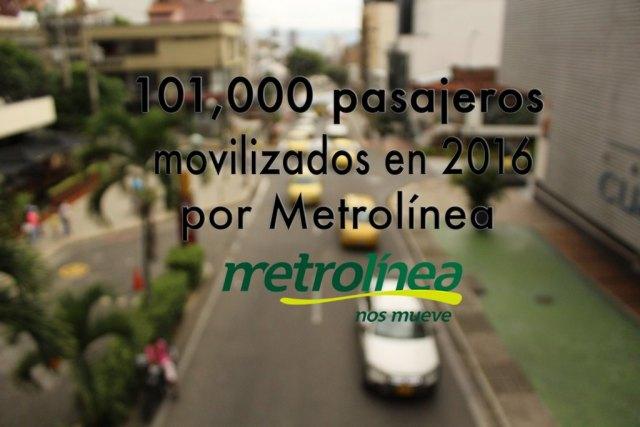 Según la Media Nacional, se estimaba que 150.000 pasajeros se transportarían en 2016. FOTO/PABLO FÜERMAN