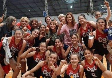San Lorenzo de Tostado es campeón absoluto del básquet femenino de la Asociación Noroeste